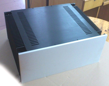 A50 Aluminum enclosure Preamp chassis Power amplifier case/box size 480*210*390mm