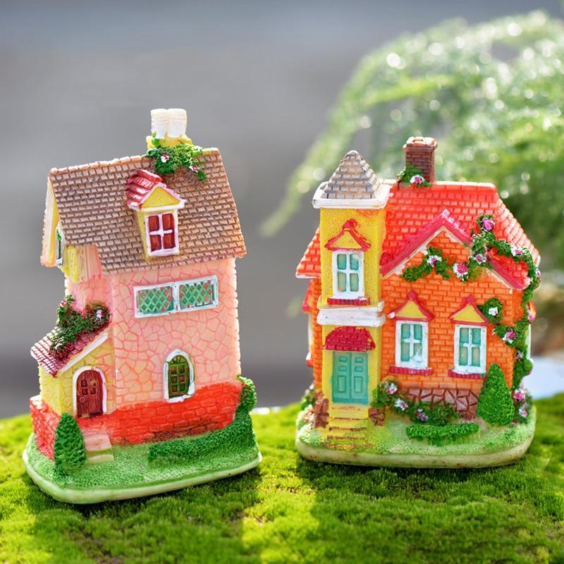 Baumstumpf Brücke Modell Mini Harz Garten Micro Landschaft Dekor Neue Mode