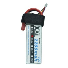 2pcs XXL Power 3S lipo battery 2200mAh 11.1v 30C for rc helicopter car boat quadcopter remote control toys Li-Polymer battey