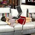 Multifunktionale Full Motion Beweglichen Laptop Schreibtisch Tragbare Nacht/Sofa Laptop Stand Tablet Computer Halter Lapdesks + Maus Pad-in Tablet-Ständer aus Computer und Büro bei
