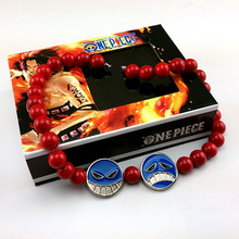 Portgas D Ace Red Necklace