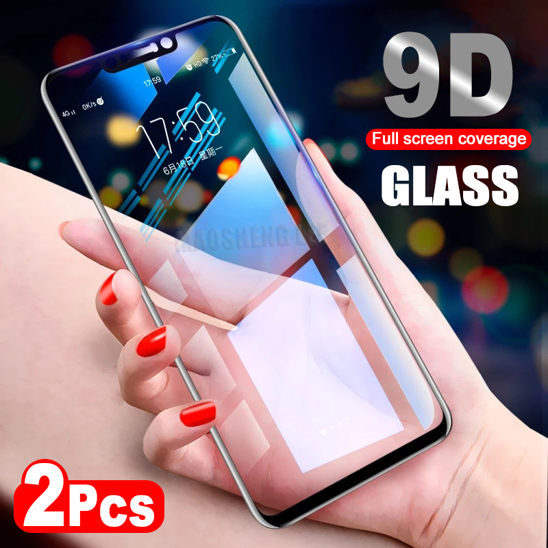 2Pcs/lot 9D Glass For Huawei Nova 3 3i 3e Nova 4 Tempered Glass Screen Protector For Huawei Nova 4 Full Cover Protective Film