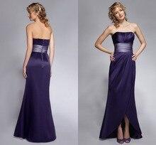 Bodenlangen Strshort Prom Kleider Neue Qualität Charming Lange Satin Kleid Pleats 2015 Bodenlangen Abend Formale Kleid Mit schärpe