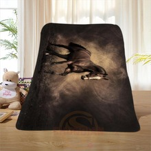 P#88 Custom Horse#7 Home Decoration Bedroom Supplies Soft Blanket size 58×80,50X60,40X50inch SQ01016@H+88