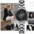 ساعات معصم للسيدات من SINOBI مصنوعة من الصلب ذات علامة تجارية فاخرة ساعة معصم نسائية من الكوارتز ماركة جينيفا 2018 ساعات معصم للنساء