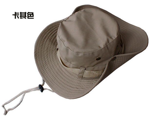 HotSelling bucket hats Fashion Cap Hunting Fishing hats Sun Block Bob Camping Bucket Hat Cap Sun hat freeshipping