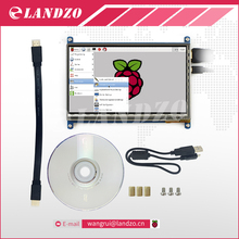Raspberry Pi 3 Affichage HDMI 7 Pouce 800*480 LCD avec Moniteur à Écran tactile pour Raspberry Pi 3 B +/2B Pcduino Banane Pi