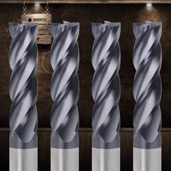 Фреза металла резак HRC50 4 Флейта 1 мм 2 мм 3 мм 4 мм 6 мм фрезерные инструменты сплав карбидная Вольфрамовая Сталь Фрезерные фрезерный станок