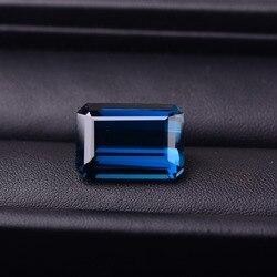 3.17CT Tayland doğal safir renk taşlar Isıtma işleme gemstonesSpecification otorite belgelendirme var: 8.8mm *