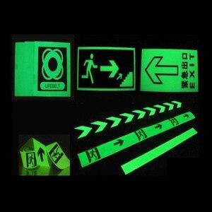Image 5 - 1.5cm * 1m 빛나는 형광 밤 어두운 스티커에 자기 접착 광선 테이프 안전 보안 홈 장식 경고 테이프