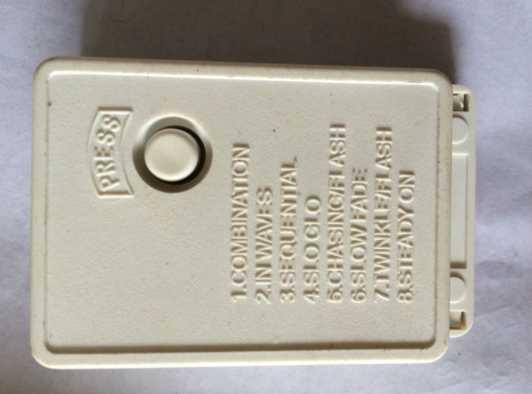1 قطعة 8 قناة التحكم مربع ل إضاءة للتزيين