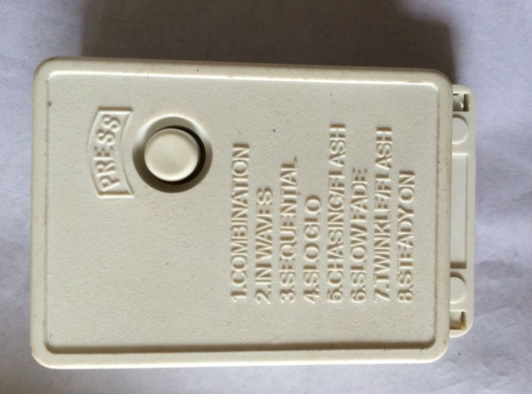 1pc 8 Channel Control Box For Lighting Decoration
