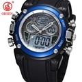 OHSEN Analog Relogio Digital Display Military Alarm Stopwatch Black Rubber Band Wristwatch Quartz Watch Casual Men Sport Watches