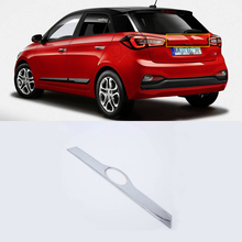 ABS Chrome Exterior car-styling accessories rear bar cover For HYUNDAI I20 high quality