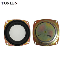 2PCS Full Range Speaker Bass Speaker 4 inch 4ohm 6 ohm 15 W HIFI Bluetooth Subwoofer Portable Speaker Audio Home Theater