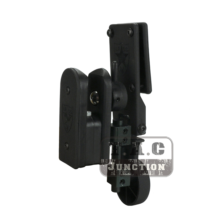 IPSC USPSA IDPA Profession Shooting Competition Speed Fast Draw Shooter's Adjustable Right & Left Hand Pistol Gun Holster