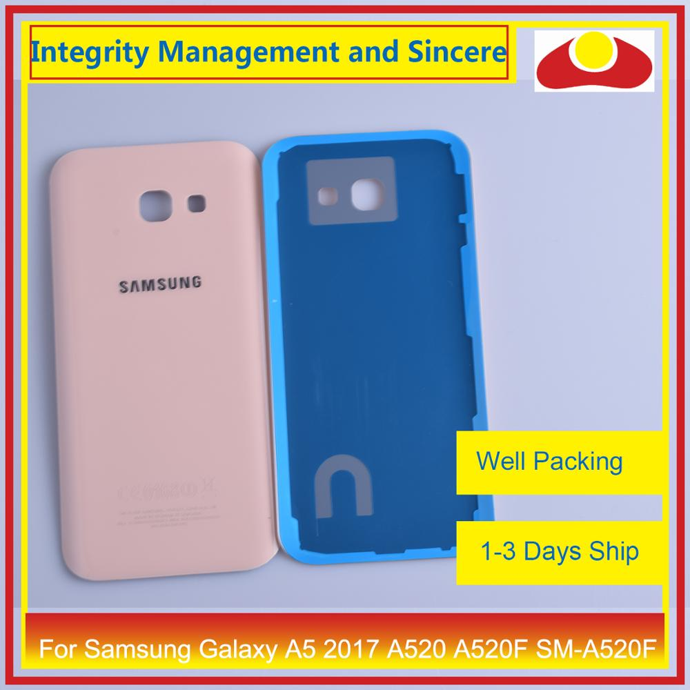 Image 4 - 50Pcs/lot For Samsung Galaxy A5 2017 A520 A520F SM A520F Housing Battery Door Rear Back Cover Case Chassis Shell Replacement-in Mobile Phone Housings & Frames from Cellphones & Telecommunications