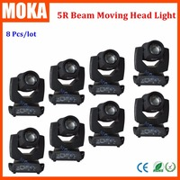 8 pcs/lot hot sale high quality Sharpie moving lights gobo wheel 5R 200W LED moving head light beam spot light