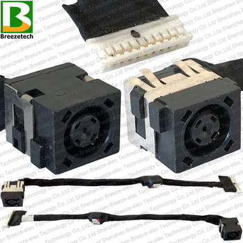 Conector de toma de corriente CC para portátil, Cable de carga Original...