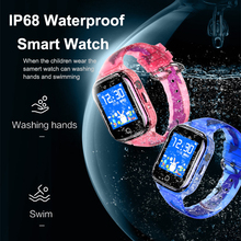 TENZERO K21 Smart Watch Kids GPS Waterproof Android Kids Watches Girls LBS Locating Camera SOS Sim Card 1.44 inch Touch Screen цена