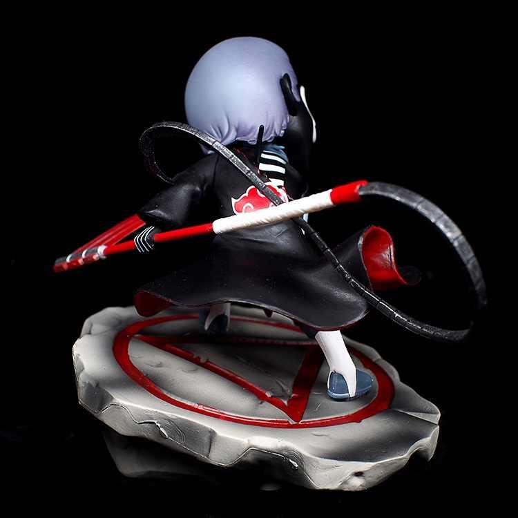 אנימציה ילד מוסך נארוטו ילדי תינוק צעצועים: פעולה איור PVC בובות Akatsuki Hidan דגם קישוט מצוין מתנות