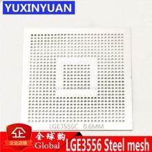 LGE3556C LGE3556 LGE3556CP LCD BGA 0,6 MM Tamaño del chip de bola de soldadura malla de acero Plantilla de malla de acero plantilla