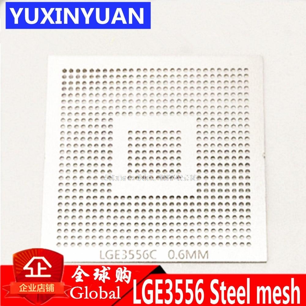 LGE3556C LGE3556 LGE3556CP LCD BGA 0,6 мм размер кристалла для припоя стальной сетки шаблон трафарета