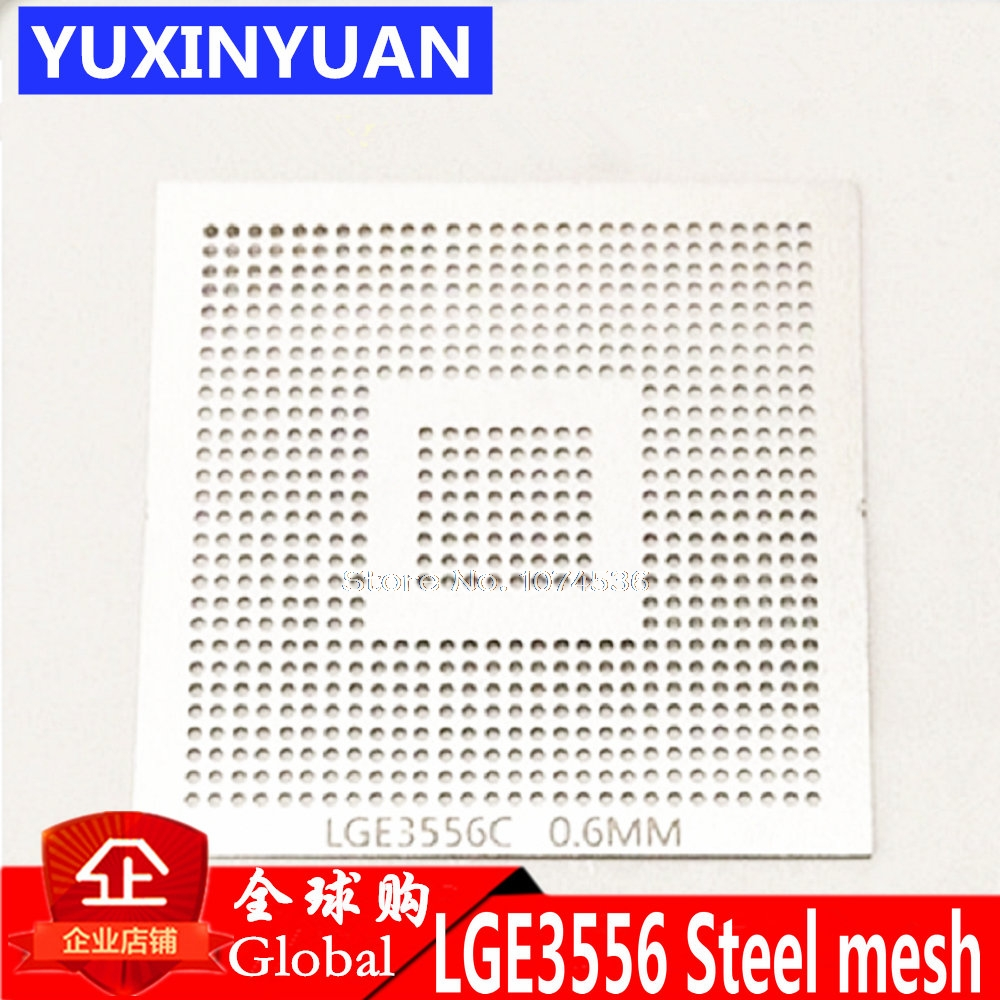 LGE3556C LGE3556 LGE3556CP  LCD BGA 0.6MM Solder Ball Chip Size Steel Mesh Steel Mesh Template Stencil