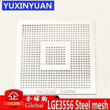 LGE3556C LGE3556 LGE3556CP液晶bga 0.6 ミリメートルはんだボールチップサイズ鋼メッシュ鋼テンプレートステンシル