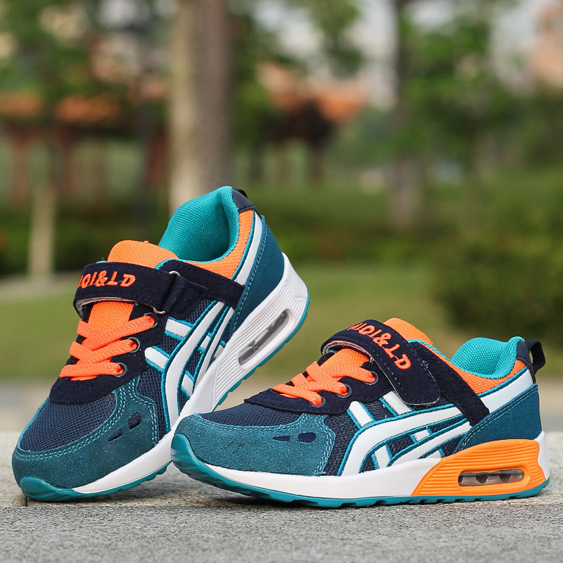 New Design Children sports shoes boys and girls air cushion shoes comfortable kids sneakers child running shoes Size 26-39