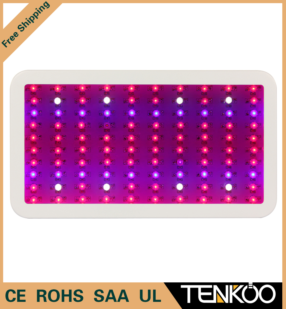 1pcs Full Spectrum 300W LED Grow Light 100X3W Grow Lamps For Flowers/Plants/Vegetables growing and Blooming grow box grow tent