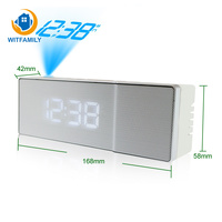 Multi function Radio Time Projection LED Snooze Alarm Clock Bedroom Bed Home Living Room Decoration Countertop Electronic Clock