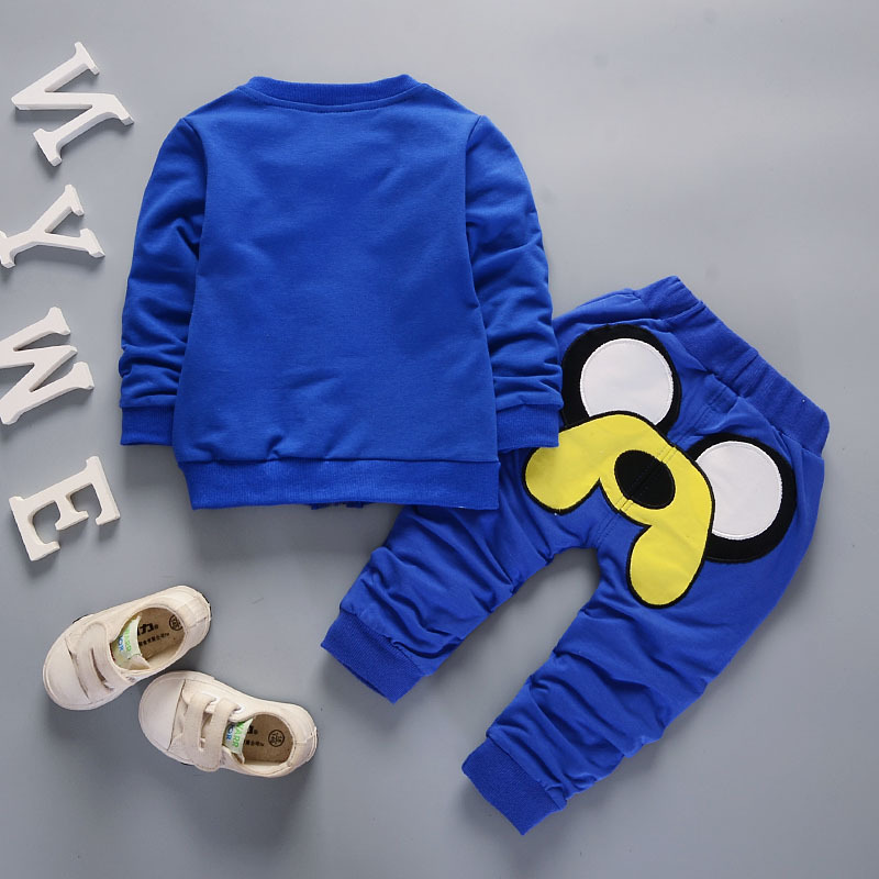 Newborn Baby Boy Girl Clothes Spring Autumn Cartoon Dog Cardigan Jacket + T-shirt + Pants 3PCS Christmas Outfits Kids Bebes Suit