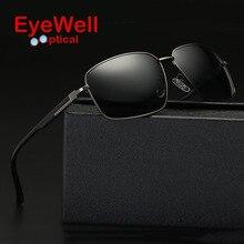 Classic men polarized sunglasses metal frame trend sunglasses fashion driving mirror glasses 17060