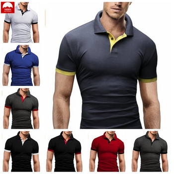 Shirt Short Sleeves Man The New Solid Color Spring And Summer Fashion Slim Fit Cotton Simple Joker Button Leisure NZC-087