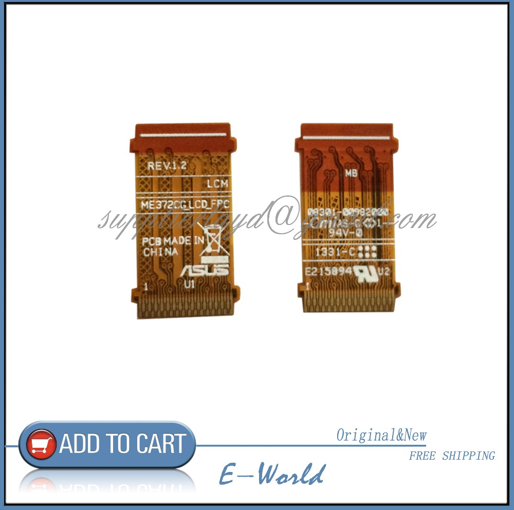 Original ME372CG FLEX For ASUS ME372 ME373 K00E LCD FPC SCREEN Flex Cable Free ShippingOriginal ME372CG FLEX For ASUS ME372 ME373 K00E LCD FPC SCREEN Flex Cable Free Shipping