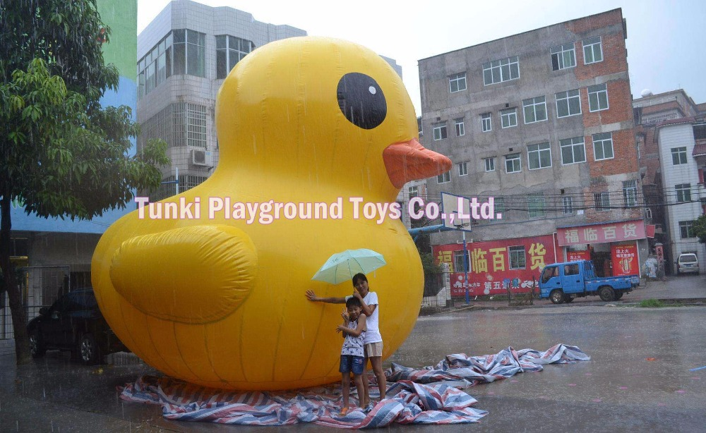 6 meters high lovely advertisement inflatable yellow duck6 meters high lovely advertisement inflatable yellow duck