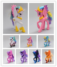 Rarity Kunai Pets Horse Unicorn Princess Celestia Princess Luna Cartoon Action Toys Figures  Christmas Little Gift