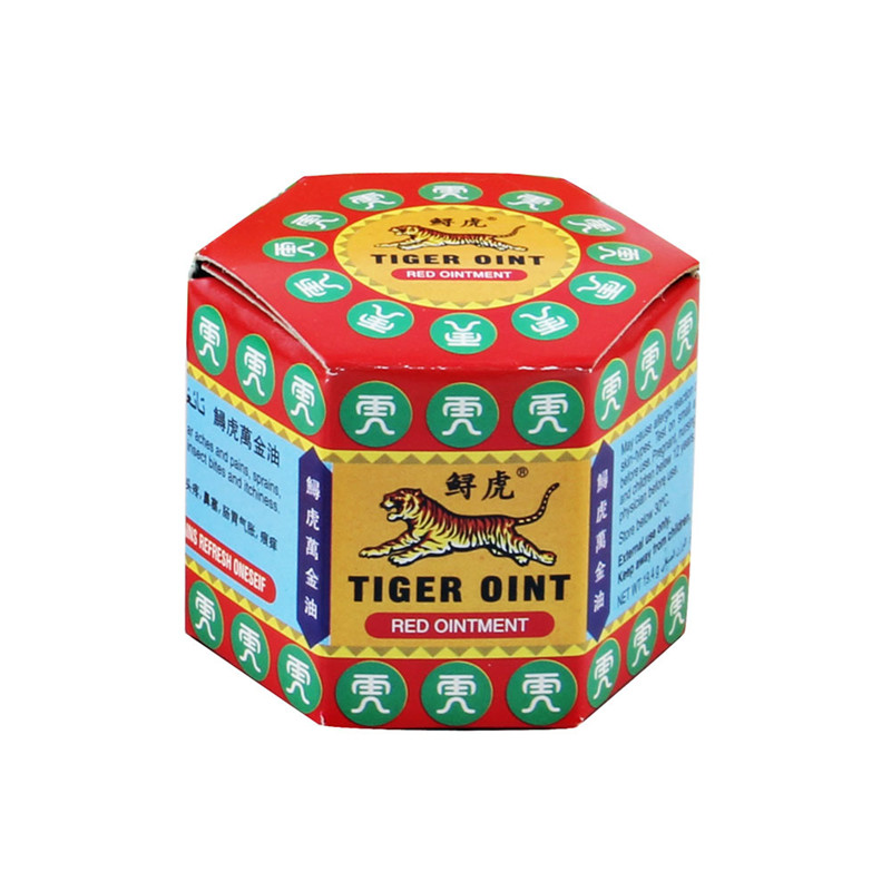 Hot 100% Original Red Ointment Tiger Balm Thailand Analgesic Muscle Ointment Pain Relief Ointment Soothing Itch