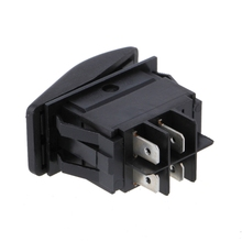 4 Pin ON – OFF Waterproof 12V 20A Bar Rocker Toggle Switch LED Light Car Boat Marine Vehicles