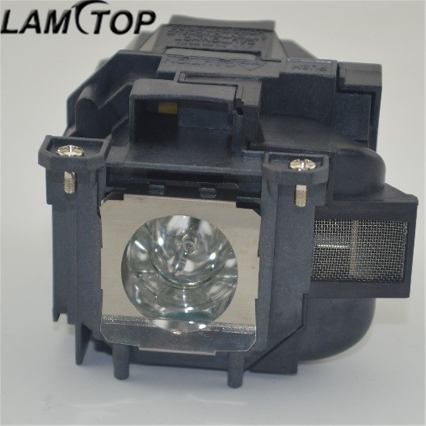 LAMTOP ELPLP77 replacement compatible projector lamp bulb WITH HOUSING PowerLite 4650 4750W 4855WU G5910 EB-4550