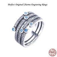 الكمال محفورة شعار s925 خاتم الفضة والمجوهرات سحر ميض المحيط ، باردة النعناع ومسح