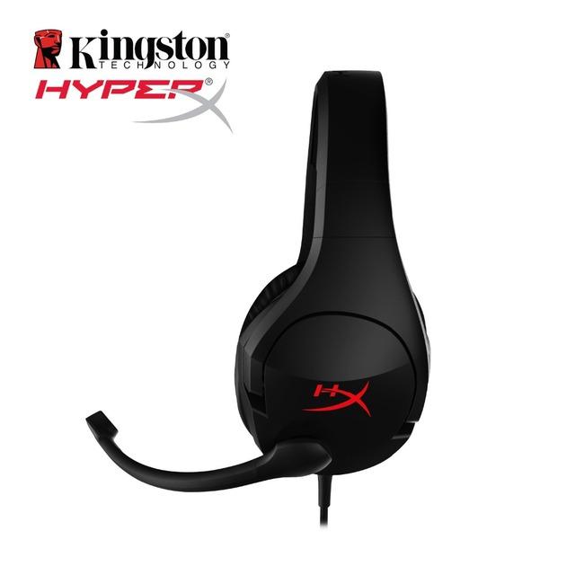 Últimas KINGSTON HyperX Nube Stinger comodidad Ligera Diadema doble juego de auriculares de sonido volumen ajustable Con un micrófono