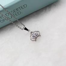 CHENFAN crown chain suspension choker trinket bijouterie pendant Suspension Necklace Decorations Chains Pendants