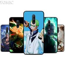 One Piece Roronoa Zoro Silicone Case for Oneplus 7 7Pro 5T 6 6T Black Soft Case for Oneplus 7 7 Pro TPU Phone Cover