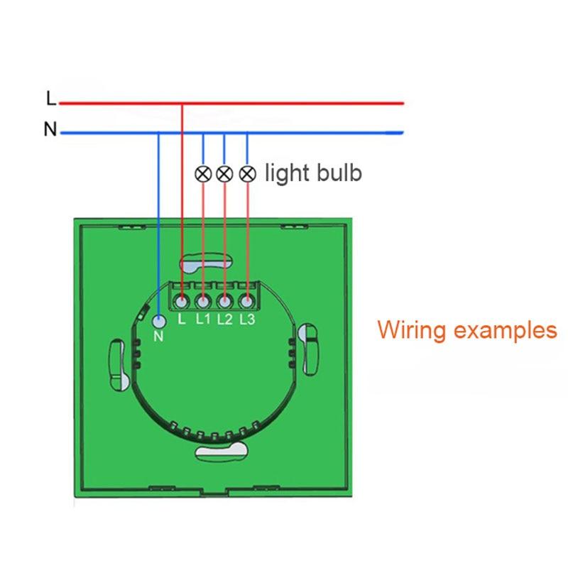 Hersteller Xenon Wandschalter 110 ~ 240 V Smart Wi Fi Schalter Taste ...