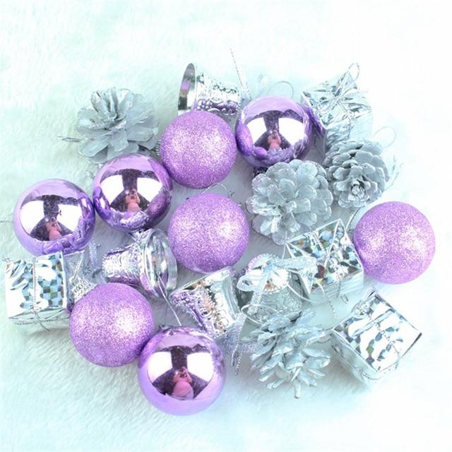 DoreenBeads Christmas Tree Decor Ball Gifts Stars Ornament Glitter ...