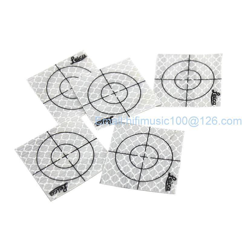 150pcs Reflector Sheet 50 x 50 mm Reflective Tape Target for Total Station new 50pcs each size reflector sheet reflective tape target for total station