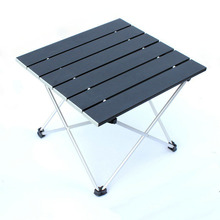 Mini Portable Collapsible Outdoor Furniture Camping Folding Square Table Aluminum Alloy Make Tea Barbecue Desk Picnic Table 70 70 69cm aluminum alloy folding table portable outdoor barbecue table camping table picnic desk