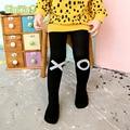 Patrón geométrico Girls Stocking Niños Niñas Medias Medias Infantiles de la Ropa de Algodón para niños Para Niños Pantimedias Para 0-3Y